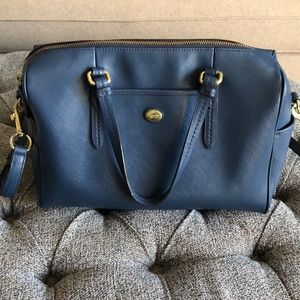 Coach Handbag Medium size Navy Blue